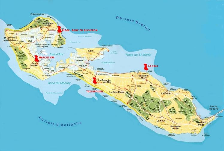 Infos Sur Carte Ile De Re Arts Et Voyages